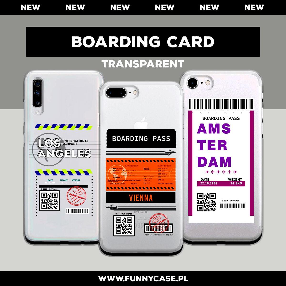 Boarding Card Transparent