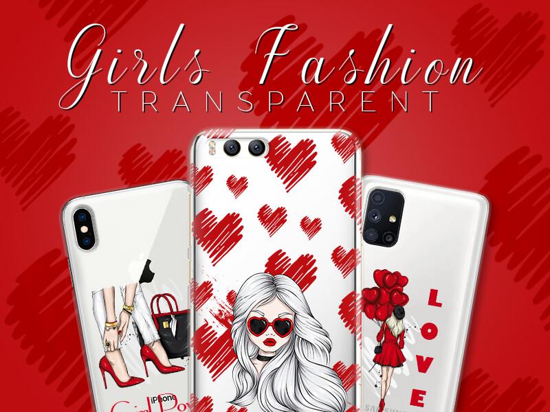 Girls Fashion Transparent